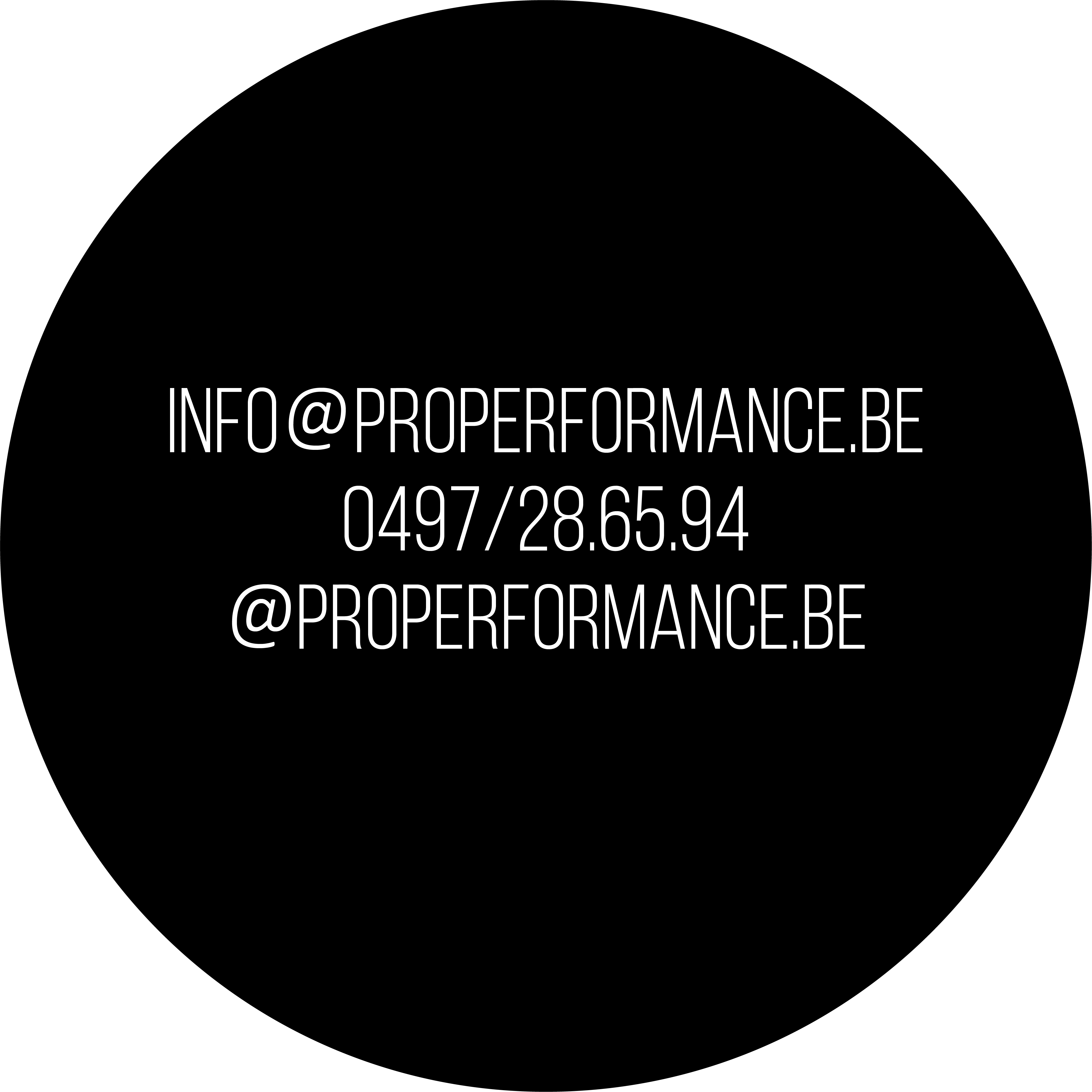Properformance Logo Adres